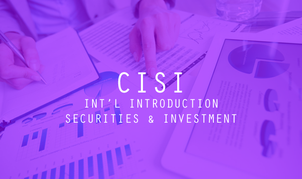 CISI Int'l Introduction to Securities and Investment