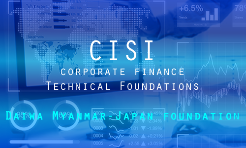 CISI Certificate in Corporate Finance - DMJF Scholarship Programme